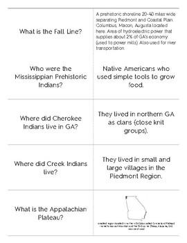 Georgia Geography Quizlet Flashcards