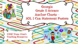 Georgia Grade 5 Science Anchor Charts - SOL I Can Statement Posters