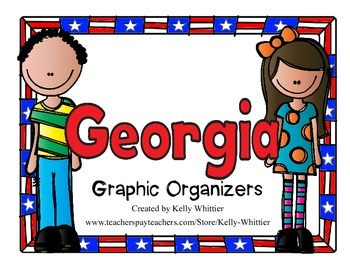Georgia Graphic Organizers (Perfect for KWL charts and geo