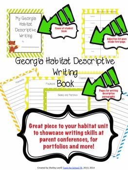 Georgia Habitats, georgia science, third grade science, habitats, literature stu