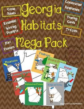 Georgia Habitats Close Read Mega Pack