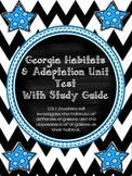 Georgia Habitat and Adaptation Unit Test With Study Guide!