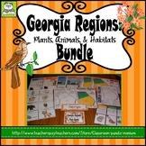 Georgia Regions: Plants, Animals, and Habitats (Includes T