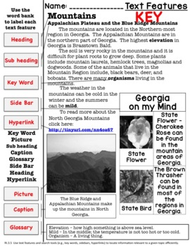 3rd Science Georgia Habitats Bundle: Piedmont, Mountains, Swamps and more