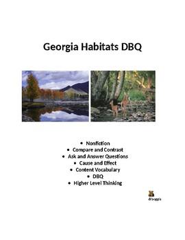 Georgia Habitats DBQ