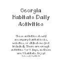 Georgia Habitats Daily Activities Regions S3L1 NEW Georgia