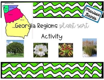 Georgia Habitats Plant Sort