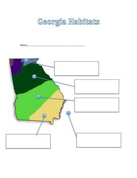 Georgia Habitats Quiz