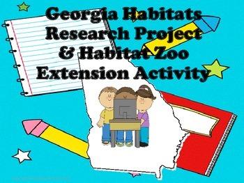 Georgia Habitats Research Project