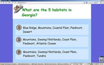 Georgia Habitats Review for ActivInspire