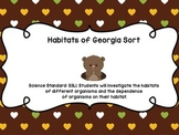 Georgia Habitats Sort