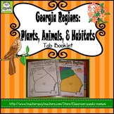 Georgia Regions: Plants, Animals, and Habitats Tab Booklet (Meets New GSE's)