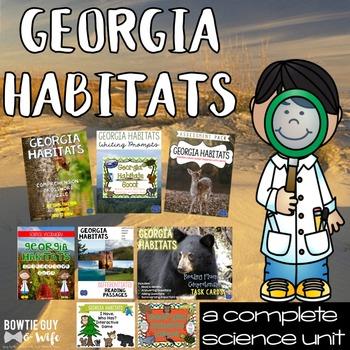 Georgia Habitats Unit: Games, Activities, & Assessments