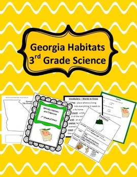 Georgia Habitats and OrganismS BUNDLE- 3rd Science