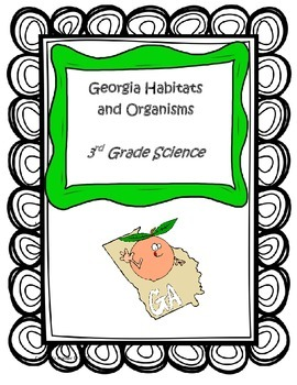 Georgia Habitats and Organism STUDY GUIDE- 3rd Science