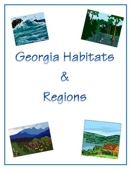 Georgia Habitats and Regions Reading Comprehension