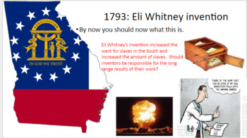 Georgia History Bellringers