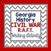 Georgia Studies-Georgia History Civil War R.A.F.T. Writing Activity