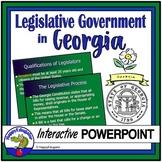 Georgia Studies - Legislative Branch of  Government PowerPoint