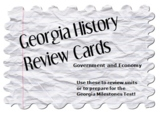 Georgia History Review Cards: Government and Economy