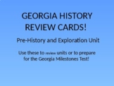 Georgia History Review Cards: Pre-History and Exploration