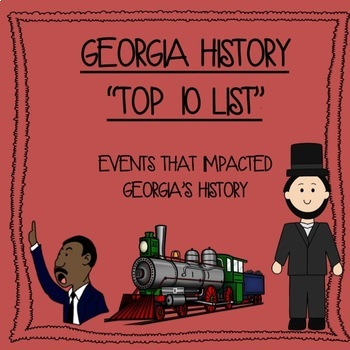 "Georgia History End of the Year ""Top 10 List"""