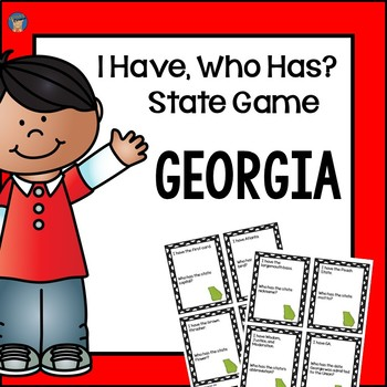 Georgia I Have, Who Has Game