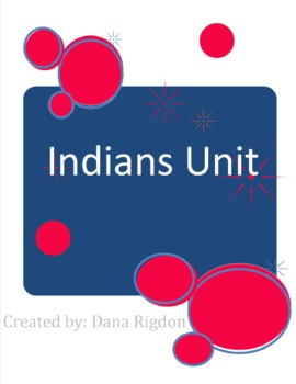 Georgia Indians Entire Unit with Plans and PowerPoints