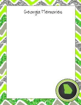Georgia Journal Set