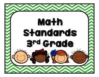Georgia (MGSE) Math Standards Third Grade