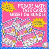 Georgia Math MGSE1.OA #1-8 1st Grade Task Cards BUNDLE - 200 Task Cards