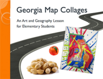 Georgia Map Collages: An Art and Geography Lesson