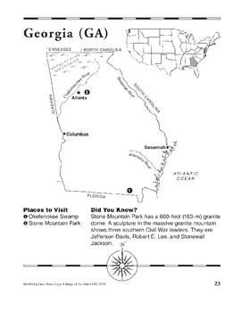 Georgia (Map & Facts)