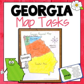 Georgia Map Skills