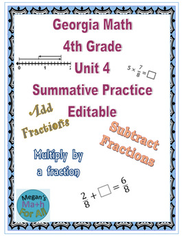 Georgia Math 4th Grade Worksheets & Teaching Resources | TpT