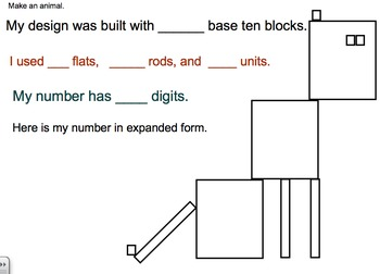 Georgia Math Grade 2 Unit 1 Base Ten Pictures