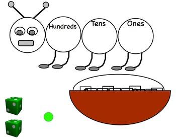 Georgia Math Grade 2 Unit 1 Capture the Caterpillar