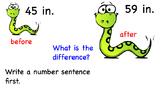 Georgia Math Grade 2 Unit 3 Solving Problems on a Number Line
