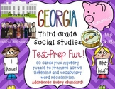 Georgia Mega Pack Social Studies Third Grade Test Prep I have, Who Has?