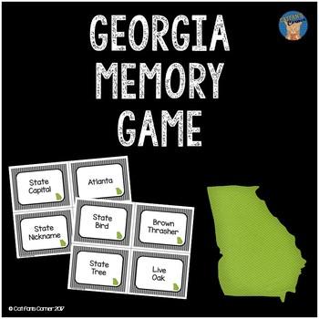 Georgia Memory Game