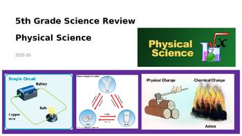 Georgia Milestones GMAS 5th Grade Science Review Physical Science