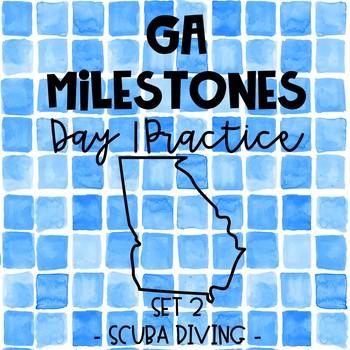 Test Prep - Georgia Milestones Day 1 Practice - Paired Passages - Set 2