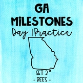 Georgia Milestones Day 1 Practice - Paired Passages - Set 3