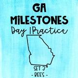 Test Prep - Georgia Milestones Day 1 Practice - Paired Pas