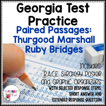 Georgia Milestones Prep Packet: Thurgood Marshall and Ruby Bridges
