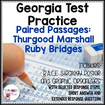 Georgia Milestones Prep Packet: Thurgood Marshall and Ruby