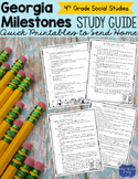 Georgia Milestones Social Studies Study Guide Fourth Grade