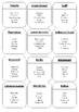 5th Social Studies Taboo Game Cards