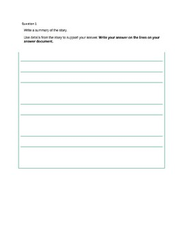 Georgia Milestones Student Friendly Work Packet
