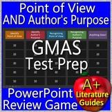 Georgia Milestones Test Prep EOG Point of View Author's Purpose Review Game GMAS